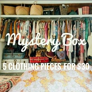 Other - Mystery Box! 5 Clothing Pieces for $30! 5 🌟 Rated